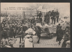 NANTES  Carnaval 1921 Char Du Boeuf Gras  Gros Plant 1er (  Très Très Bon état )  Ti 606) - Nantes