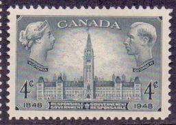 CANADA 1948 QV, Parliament, KGVI , SG 411, XF MNH, SG 411 - 1937-1952 Règne De George VI