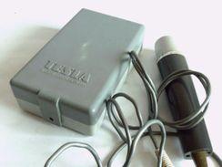 Vintage Microphone And External Speaker TESLA - Technical