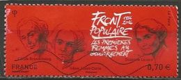 N° 5070 : Front Populaire - Oblitéré - Oblitérés