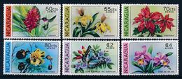 [63785] Nicaragua 1979 Flora Flowers Blumen Airmail MNH - Unclassified
