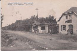 Butgenbach. Camp D'Elsenborn. Allée Principale. Groote Weg - Bütgenbach
