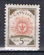 5 R Brun Et Orange N°48 - Latvia