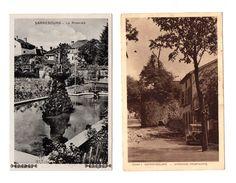 ( 57 ) Sarrebourg : Vues, Lot De 2 Cpa - Sarrebourg