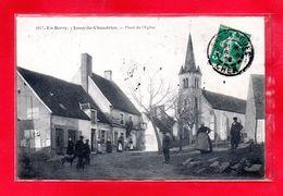 18-CPA JUSSY LE CHAUDRIER - PLACE DE L'EGLISE - (N°1027) - France