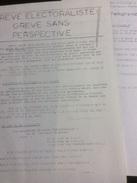 Grève électoraliste, Grève Sans Perspective. Tract De La Coordination Des Groupes Anti Autoritaires Des P.T.T. - Début D - [4] Themes