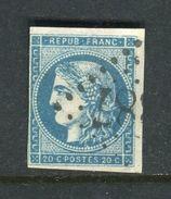 Yvert N° 45C - 1870 Bordeaux Printing