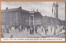 Dublin  Sinn Fein Insurrection Set Of 6 With Envelope    Ir178 - Dublin