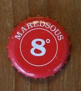 Bière Beer Bier Cerveza Cerveja Birra MAREDSOUS 8° - Bière
