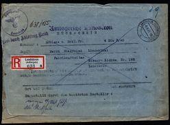 A4912) DR R-Rückschein Von Landskron 6.6.40 Provisorisch - Briefe U. Dokumente
