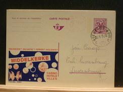 70/915  PUBLIBEL BELGE 2595F 0BL. - Stamped Stationery