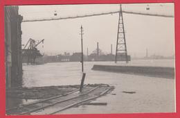 CPA* SERAING *INONDATIONS 1926 * Quai De L'Espérance Et Brèche Du Mur Digue * Scann RECTO/VERSO - Seraing