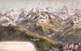 Vallée De Zermatt Et  Saas-Fee - VS Valais