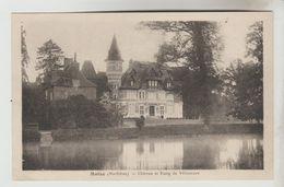 CPSM MOLAC (Morbihan) - Château Et Etang De Villeneuve - Autres Communes