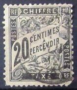 FRANCE            TAXE 17           OBLITERE          2° CHOIX - Portomarken