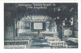 17598 -  Duisburg Wintergarten 750 Sitzplätze Königstrasse - Duisburg