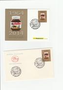2014 Lotto Intero Postale, Nutella, 2 PZ - Italia