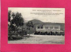 "06 ALPES MARITIMES, NICE, Hôtel-Restaurant ""Beau-Site"", F. Bensa, Propriétaire, Quartier St-Pancrace, (Giletta), Facture - Ohne Zuordnung"