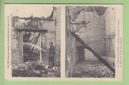 REIMS : Pompier Intervenant Dans L'Hôpital Incendié Par Les Allemands 1916. 2 Scans. Edition Dubois - Sapeurs-Pompiers