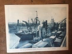 Dunkerque Port De Dunkerque Déchargement Du Grain à L Aide D Un Aspirateur Marine Marchande - Dunkerque