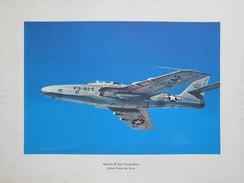 Photo AVION  REPUBLIC  RF - 84F  THUNDERFLASH - UNITED STADES AIR FORCE   (4397) - Aviation