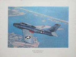 Photo AVION  REPUBLIC  F - 84F  THUNDERSTREAK - UNITED STADES AIR FORCE  (4398) - Luchtvaart