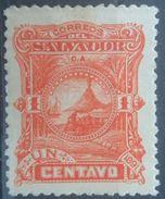 EL SALVADOR 1891 MH VOLCANO MOUNT SAN MIGUEL - El Salvador
