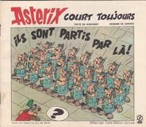 "Mini Album Asterix Offert Par Elf ""court Toujours"" - Reclame"