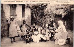AFRIQUE --  DAHOMEY -- Congrégation Dees Soeurs  De N. D. Des Apotres - Catéchisme à Domicile - Dahomey