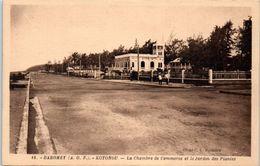 AFRIQUE --  DAHOMEY -- Kotonou -- La Chambre De Commerce Et Le Jardin Des Plantes - Dahomey