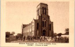 AFRIQUE --  DAHOMEY -- Mission Africaines - Cathédrale De Ouidah - Dahomey