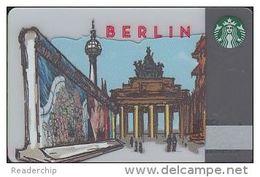 GERMANY Gift-card  Starbucks - Berlin - 6106 - Gift Cards