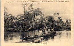 AFRIQUE --  DAHOMEY -- Congrégation Dees Soeurs  De N. D. Des Apotres - Sur Les Lagunes Du Dahomey - Dahomey