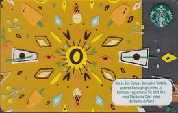 GERMANY Gift-card  Starbucks - 4 Cards - Gift Cards