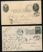 BERMUDA US POSTAGE DUE CHARGE MARKS 1904/12 - Bermuda