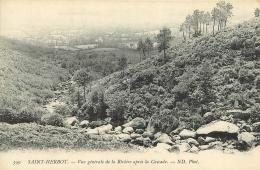SAINT HERBOT        VUE GENERALE DE LA RIVIERE - Saint-Herbot