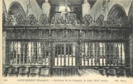 SAINT HERBOT      INTERIEUR DE LA CHAPELLE   LE JUBE - Saint-Herbot