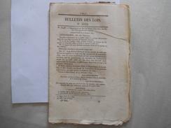 BULLETIN DES LOIS N° 1432 DU 18 NOVEMBRE 1847 ORDONNANCE DU ROI QUI DECLARE LIBRE 218 NOIRS DU DOMAINE COLONIAL......... - Décrets & Lois