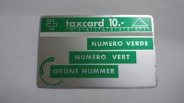 Switzerland-(s007.2c-po7b)-dark Green-(10chf)-(007b)-tirage-20.000-used Card - Suisse