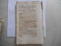 BULLETIN DES LOIS N° 1399 DU 16 JUILLET 1847 ORDONNANCE DU ROI QUI PROCLAME LES BREVETS D'INVENTION,UNIFORME GARDES NATI - Gesetze & Erlasse