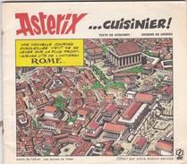 """Mini Album Asterix Offert Par Elf """"cuisinier"""" - Reclame"""