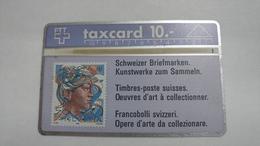 Switzerland-(s013.D-p13)-hans Eri 50rp-(10chf)-(111c)-tirage-100.000-used Card - Suisse