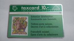 Switzerland-(s014.B-p14)-hans Eri 90rp-(10chf)-(108c)-tirage-52.000-used Card - Suisse