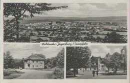 Waldburg-Jägersburg Saarpfalz, Gasthaus Zum Bahnhof, Postkarte, Saarland - Saarpfalz-Kreis