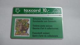 Switzerland-(s014.C-p14)-hans Eri 90rp-(10chf)-(112d)-tirage-100.00-used Card - Suisse
