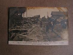 Cpa 78 Yvelines Villepreux Carte Photo Accident Train Derraillement N° 45 - Villepreux