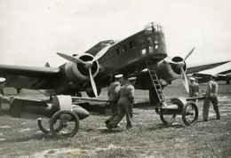Aerial Manoeuvres Aeriennes Bombardement Reims Bombing Avion Aviation France Photo Originale 1930 - Aviation