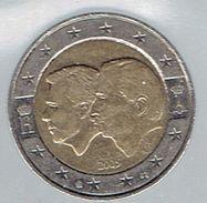 Belgique Pièce De 2 Euros Belgium-Luxembourg Monetary Union 2005 - Belgium
