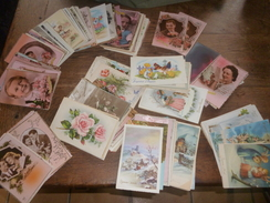 Lot 337 CPA Fantaisies - - Postcards