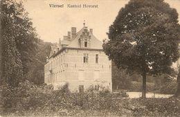 Viersel ( Zandhoven) : Kasteel Hovorst - Zandhoven